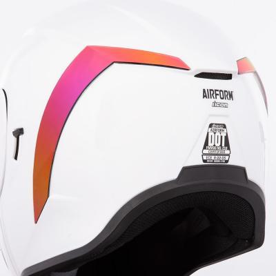Spoiler arrière Icon pour casque Airform rouge