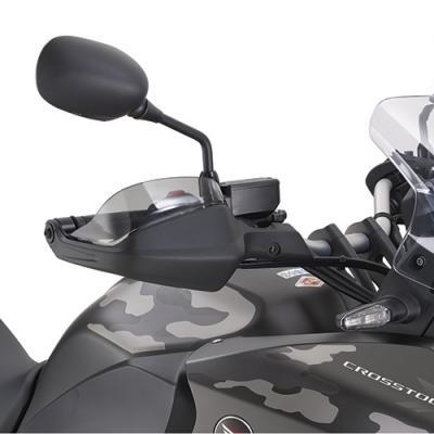 Spoilers de protège-mains Kappa Honda 1200 Crosstourer 12-18 fumé