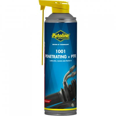Spray multifonction Putoline 1001 Penetrating + PTFE aérosol (500ml)
