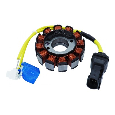 Stator d'allumage 12 pôles moteur Piaggio Leader 4t Injection