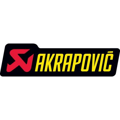 Sticker Akrapovic 120x34.5mm