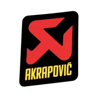 Sticker Akrapovic 60x60mm