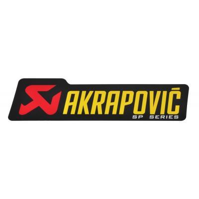 Sticker Akrapovic 90 x 26,5 mm