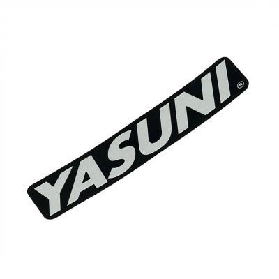 Sticker silencieux Yasuni 110 x 25 mm