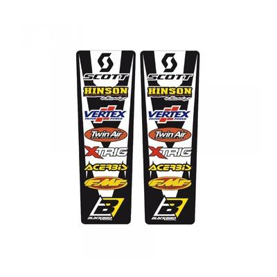 Stickers de garde-boue arrière Blackbird Racing Sponsor (2pièces)