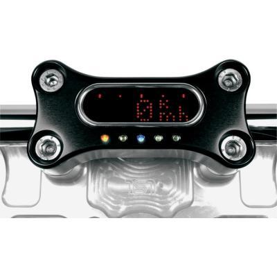 Support Compteur pontets Motogadget Motoscope Mini aluminium anodisé noir