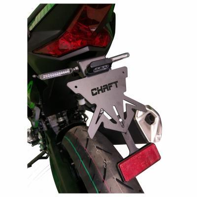 Support de Plaque Chaft Kawasaki Ninja 400 18-19