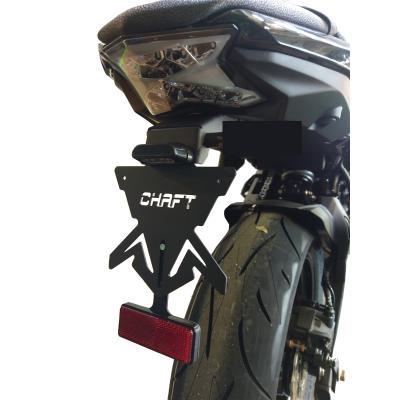 Support de plaque Chaft Kawasaki Z650 2017