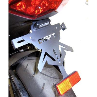 Support de Plaque Chaft pour Z 1000/Z1000 SX 2010-2013