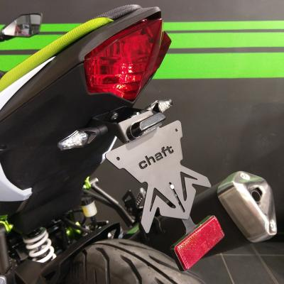 Support de plaque d'immatriculation Chaft Kawasaki Ninja 125 19-20