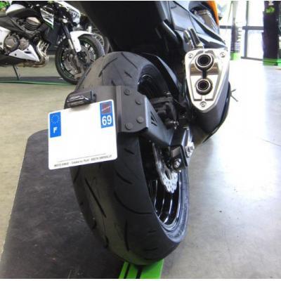 Support de plaque déporté Access Design pour Kawasaki Z800 13-16