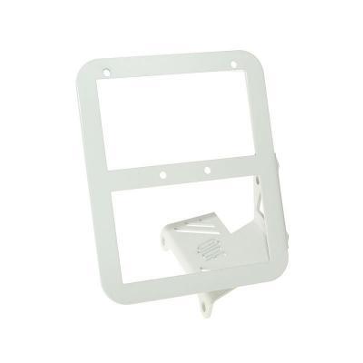 Support de Plaque Opticparts TC-Line blanc