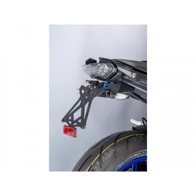 Support de plaque réglable Lightech avec éclairage de plaque pour Yamaha MT-10 16-17