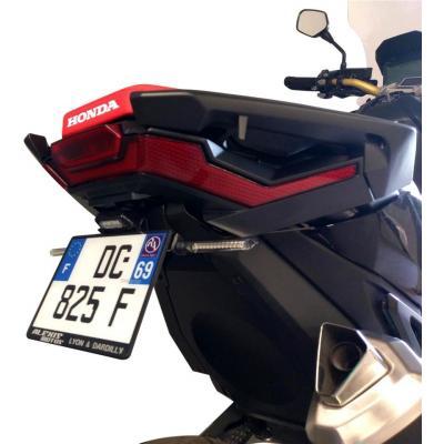 Support de plaque V-parts noir Honda X-ADV 750 17-19