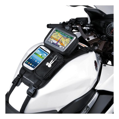 Support de réservoir Nelson Rigg à sangle pour GPS et téléphone