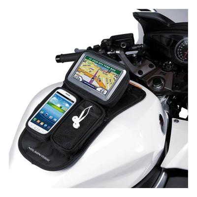 Support de réservoir Nelson Rigg magnétique pour GPS et téléphone