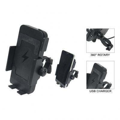 Support de téléphone avec chargeur par induction 12V