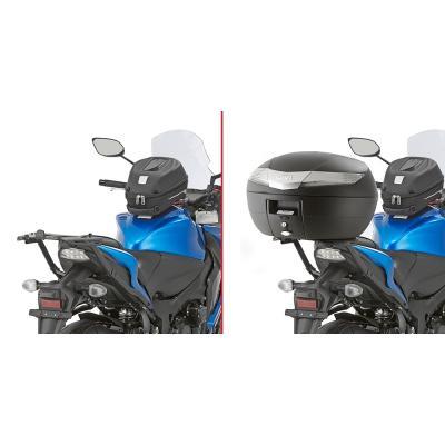 Support de top case Givi Monorack Suzuki GSX 1000F/GS 1000S 15-18