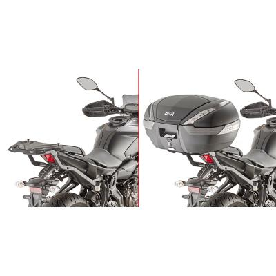 Support de top case Givi Monoracki Yamaha MT-07 2018
