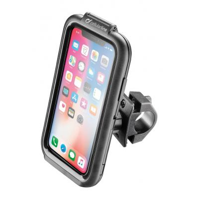 Support guidon tubulaire Cellularline Icase pour Iphone X