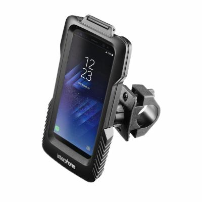 Support guidon tubulaire Cellularline Pro Case pour Samsung Galaxy S8 / S8 Edge