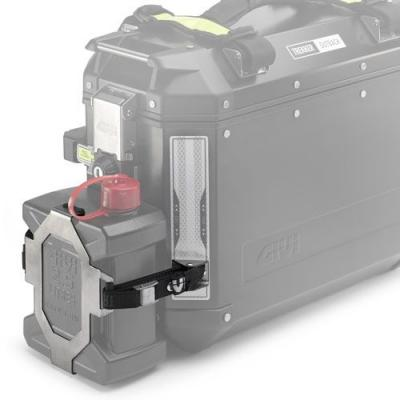 Support jerrycan Givi pour valise Outback