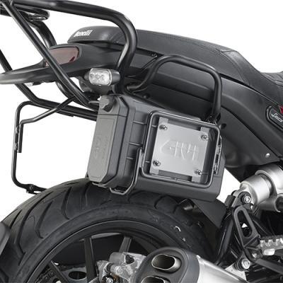 Support pour la boîte à outil S250 Givi Benelli 500 Leoncino 17-20