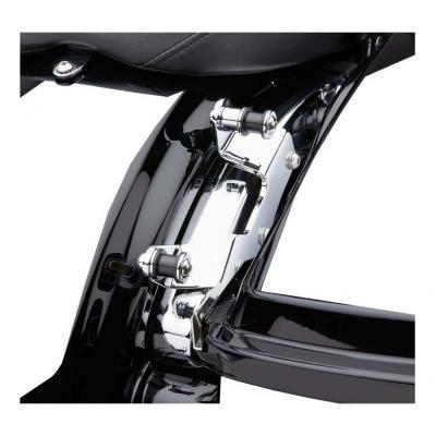 Support Sissybar amovible Cobra chromé Harley Davidson FLHT 1584 ABS Electra Glide 09-10