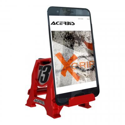 Support téléphone Acerbis Stand 73 rouge