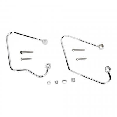 Supports de sacoches Honda VTX 1800 02-06 chrome