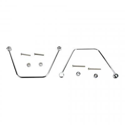 Supports de sacoches Yamaha XVS 950 12-14 chrome