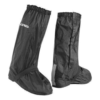Sur-bottes Acerbis imperméables Couverture de bottes de pluie 4.0 noir