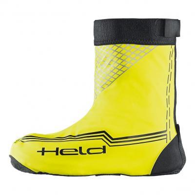 Sur-bottes courtes Held noir/jaune fluo