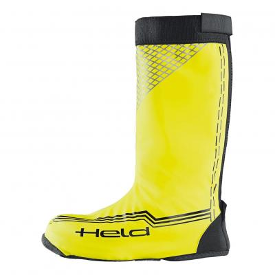 Sur-bottes longues Held noir/jaune fluo
