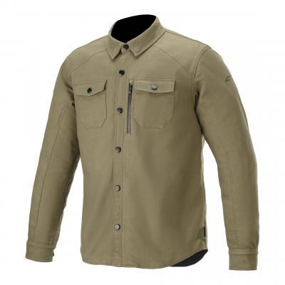 Sur-chemise Alpinestars Newman vert militaire