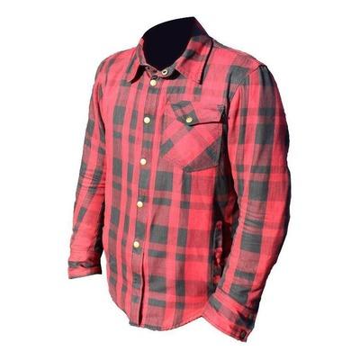 Sur-chemise Archive Woody rouge/noir