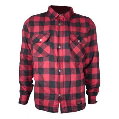 Sur-chemise Harisson Sweep carreaux noir/rouge