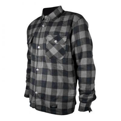 Sur-chemise Harisson Sweep carreaux noir/anthracite