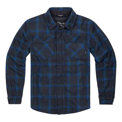 Sur-chemise Icon Flannel bleu