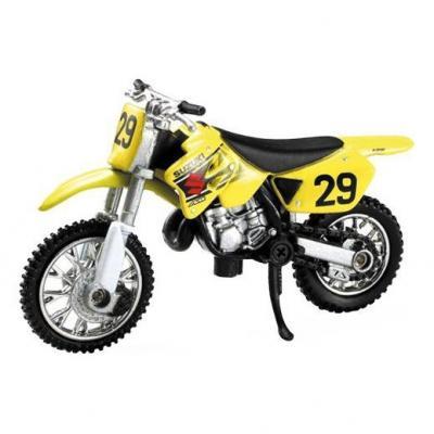 Suzuki 125 RM 1:32 NewRay jaune