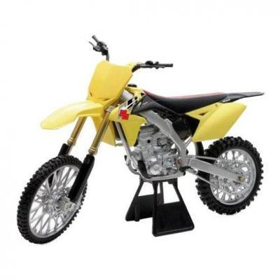 Suzuki 450 RMZ 14 1:6 NewRay jaune