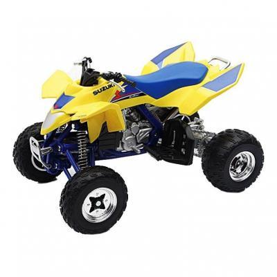Suzuki quad R450 2009 yellow 1:12 NewRay bleu/jaune