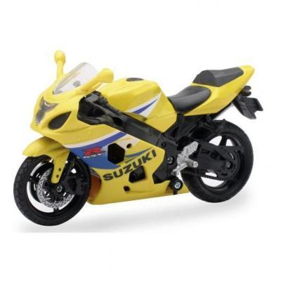 Suzuki route jaune 1:18 NewRay jaune/bleu
