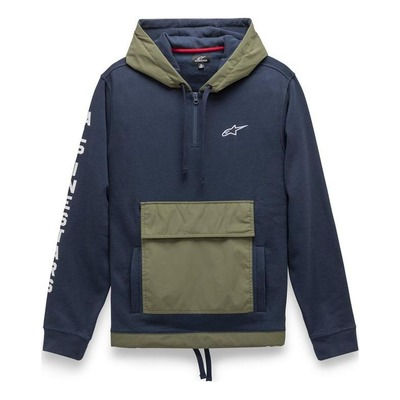 Sweat à capuche Alpinestars Explorer navy