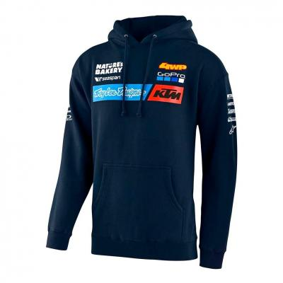 Sweat à capuche enfant Troy Lee Designs Team KTM 2020 navy