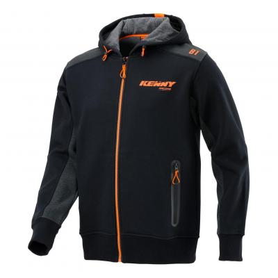Sweat à capuche Kenny Racing noir/gris/orange
