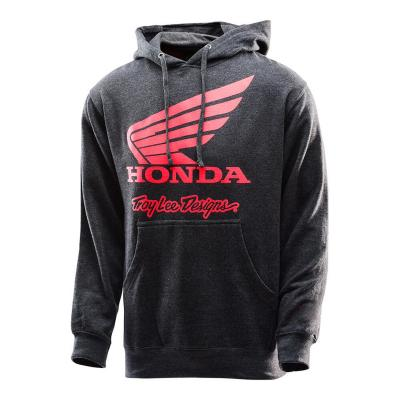 Sweat à capuche Troy Lee Designs Honda Wing charcoal