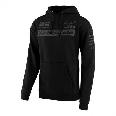 Sweat à capuche Troy Lee Designs Team KTM 2020 noir