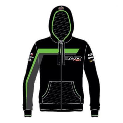 Sweat enfant à capuche Staff Bud Racing 18 vert/noir