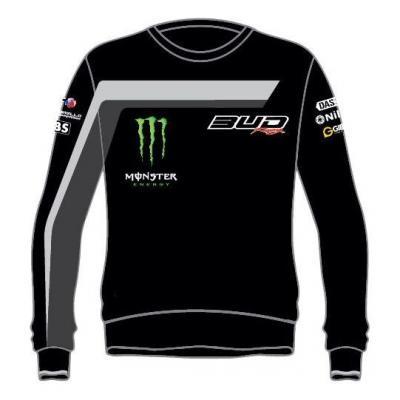 Sweat enfant Team Bud Racing 18 gris/noir